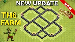 getlinkyoutube.com-NEW UPDATE TH6 FARMING DEFENSE BASE - TH11 DECEMBER UPDATE - Town Hall 6 - Clash of Clans