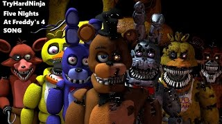 getlinkyoutube.com-(SFM FNAF) Five Nights at Freddy's 4 SONG by TryHardNinja