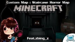 getlinkyoutube.com-Minecraft [Staircase Horror Map] # บันไดผีกับชายปริศนา ตาสีขาว (Feat.zbing_z)