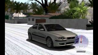 getlinkyoutube.com-Volvo S60 R-Design (2010) - Snow Tyre Chains - TDU by rubie38