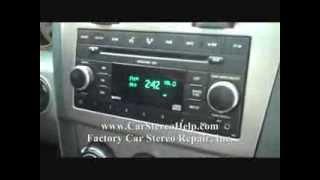 getlinkyoutube.com-Dodge Avenger Car Stereo Removal