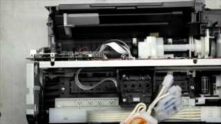 getlinkyoutube.com-Разборка Epson L110 (Disassemble the Epson L110)
