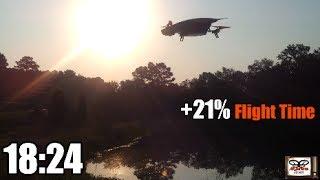 getlinkyoutube.com-AR Drone 2.0 - Lightweight, Add 21% Longer Battery Life - Episode 37 HD