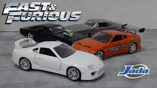 getlinkyoutube.com-Fast & Furious 7 - White Toyota Supra - Jada Toys