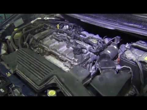 Mazda Premacy замена радиатора.