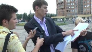 """Работники """"Энерго-Алекса"""" митингуют"""