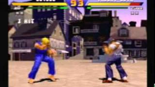 Street Fighter EX - Ken playthrough