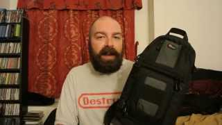 getlinkyoutube.com-Lowepro102 AW Slingshot Camera Bag Review (and 2 other bags)