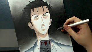 getlinkyoutube.com-Speed Drawing - Okabe Rintarou (Steins;Gate)