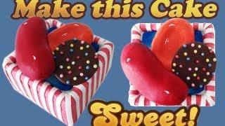 getlinkyoutube.com-Candy Crush Saga Cake HOW TO COOK THAT Ann Reardon level 33 65 97