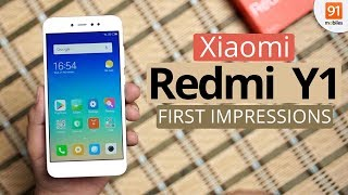 Xiaomi Redmi Y1: First Look | Hands on | Price