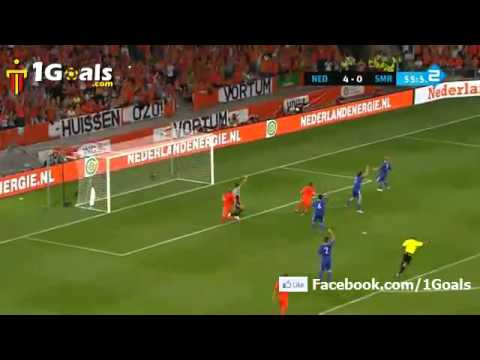 netherlands  vs San Marino 11-0 All Goals Highlights 2.9.2011 UEFA EURO 2012 Qualifier Group E