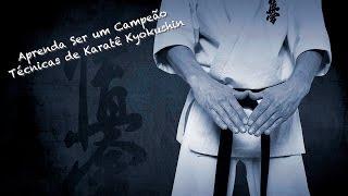 Técnicas de Karate kyokushin e entrevista com o Sensei Wagner Xavier