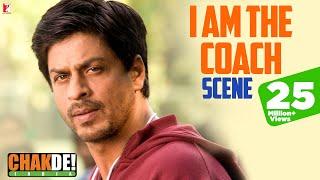 Scene: The Coach of India   Chak De India   Shah Rukh Khan