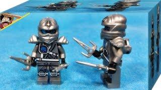 getlinkyoutube.com-jlb 닌자고 티타늄 닌자 쟌 레고 짝퉁 미니피규어 조립 리뷰 Lego knockoff Ninjago titanium ninja zane minifigures