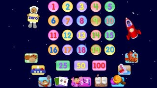 getlinkyoutube.com-✿★Starfall Numbers★✿ Best numbers counting learning 1-20 app for kids