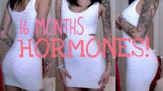 getlinkyoutube.com-16 MONTHS ON HORMONES!