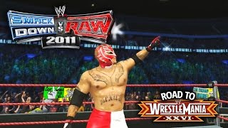 "getlinkyoutube.com-WWE Smackdown vs Raw 2011 - ""ROYAL RUMBLE MATCH!!"" (Road To WrestleMania Ep 4)"