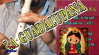 getlinkyoutube.com-La Guadalupana - Tutorial flauta dulce