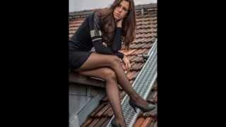 getlinkyoutube.com-Outfits con medias Negras