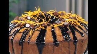getlinkyoutube.com-كيك بالشوكولاتة وشراب البرتقال - مطبخ منال العالم