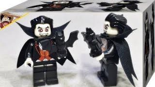 getlinkyoutube.com-Bozhi 뱀파이어 드라큘라 미니피규어 시즌2 짝퉁 레고 8684 조립 리뷰 LEGO knockoff Minifigures Season 2 Vampire