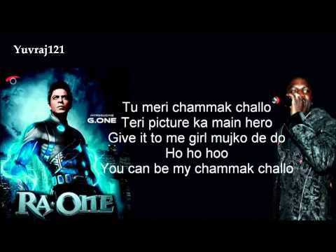 Akon - Chammak Challo - Shahrukh Khan, Karena Kapoor ( Movie Ra.One )