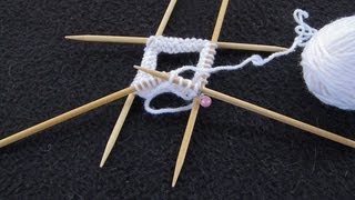 getlinkyoutube.com-Knit With DPNs (Double Pointed Needles)