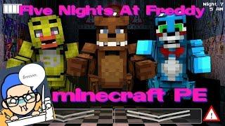 getlinkyoutube.com-( minecraft pe 0.14.0 )  Five Nights At Freddy MOD