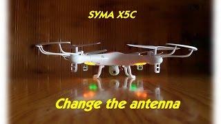 getlinkyoutube.com-SYMA X5C change the antenna