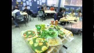 يوم التغذية - مدرسة المشهد ب