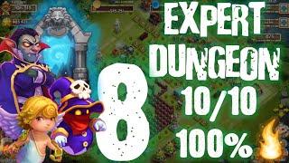 getlinkyoutube.com-Castillo Furioso: Expert Dungeon 8  10/10  100% victoria