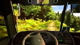 """getlinkyoutube.com-Euro truck simulator 2  V 1.10  """"mapa españa,africa,etc"""".""""mapa carreteras peligrosas"""" y """"mod bus"""""""