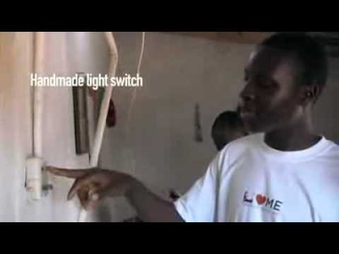 African Genius, 14 Year Old Self Taught Engineer makes Electricity For Village (NyInternetCafe.Org) [AFRICAX5.TV]
