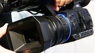 getlinkyoutube.com-IBC2014: Panasonic 4K-Camcorder HC-X1000