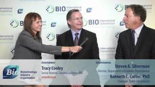 Steve Silverman & Ken Carter at June 20 BIO Buzz Center interview