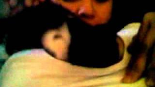 getlinkyoutube.com-cat tries to breastfeed girl
