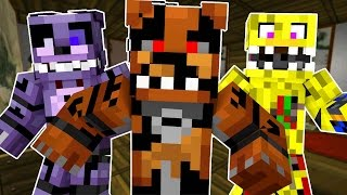 getlinkyoutube.com-Going into Five Nights at Freddys 4 (Minecraft Roleplay!)