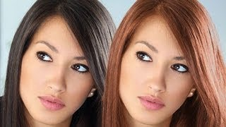 getlinkyoutube.com-How to change hair color in photoshop cs6 tutorial