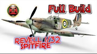 getlinkyoutube.com-1/32 Revell Spitfire MkIIa COMPLETE BUILD!