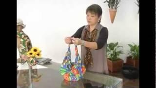 getlinkyoutube.com-Dica de Artesanato: como fazer bolsas: Furoshiki