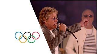 getlinkyoutube.com-The Who London 2012 Performance | Extinguishing the Olympic Flame