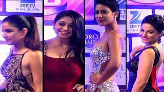 getlinkyoutube.com-SEXY BACKS ALERT - Jasmine Bashin, Nia Sharma, Hina Khan & chandni Flaunts Their Sexy Backs