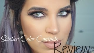 getlinkyoutube.com-Solotica Color Contacts Review | QUARTZO