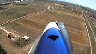 getlinkyoutube.com-Landing Gracia - First Person View RC Plane landing through the onboard camera.