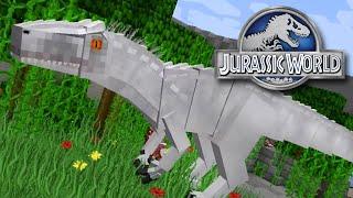getlinkyoutube.com-Indominus Rex - Minecraft - Jurassicraft