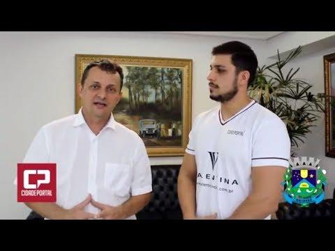 Vídeo: Prefeito de Goioerê Pedro Coelho fala sobre a Expo-Goio 2017