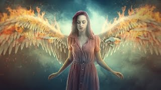 Fire Wings - Photoshop manipulation Tutorial Effects