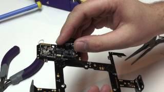 Quadrocopter Tutorial - Mikrokopter Power Distribution Build
