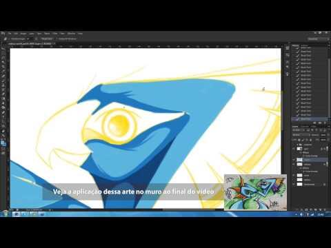 Técnicas de desenho para grafite com Garu e Instagrafite